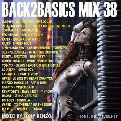 Back2Basics Italo Mix vol 38 [2016] by Tony Renzo