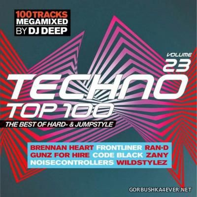 [SWG Team] Techno Top 100 vol 23 [2016] / 2xCD / Mixed by DJ Deep