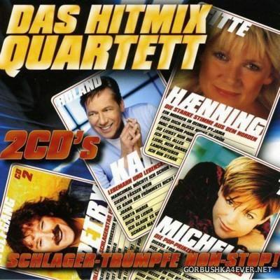 Das Hitmix Quartett - Schlager Truempfe Non-Stop! [2010] / 2xCD