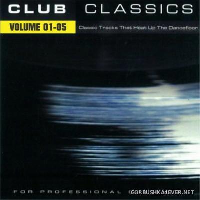 X-Mix Club Classics vol 01 - vol 05