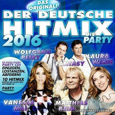 Der Deutsche Hitmix - Die Party [2016]