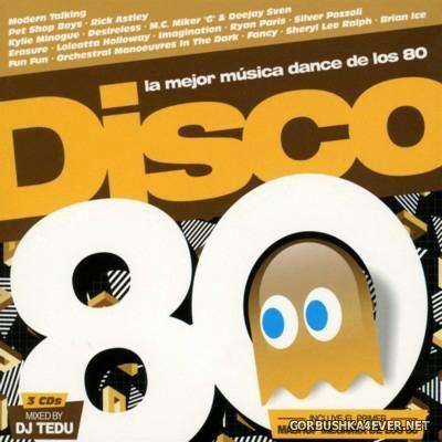 DJ Tedu - Disco 80 MegaMashup [2016]