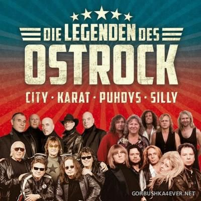 Die Legenden Des Ostrock (Puhdys, City, Karat & Silly) / 2xCD