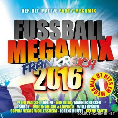 Fussball Megamix Frankreich [2016] / 2xCD / Mixed by DJ Deep