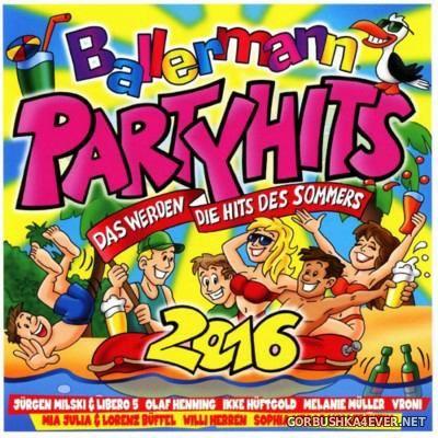 Ballermann Party Hits (Das Werden Die Hits Des Sommers) [2016]
