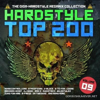 Hardstyle Top 200 vol 9 [2016] / 4xCD / Mixed by DJ Deep