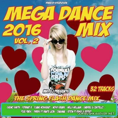 Mr. GJ presents Mega Dance Mix 2016.2