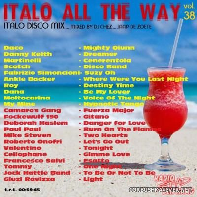 DJ Chez - Italo All The Way vol 38 [2016]