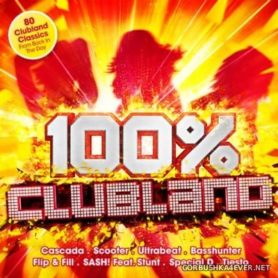 100% Clubland [2016] / 4xCD