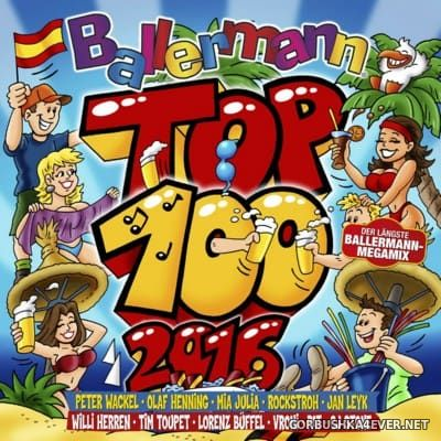 Ballermann Top 100 2016 / 2xCD / Mixed by DJ Deep