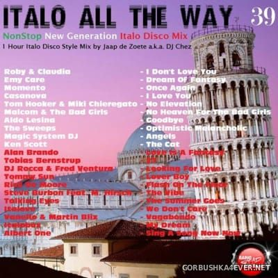 DJ Chez - Italo All The Way vol 39 [2016]