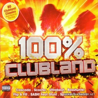 100% Clubland [2016] / 4xCD / Continuous Mix Bonus