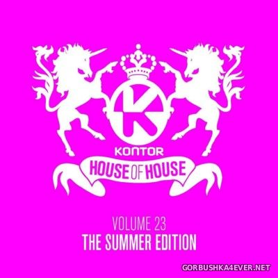 [Kontor] House Of House vol 23 - The Summer Edition [2016] / 3xCD