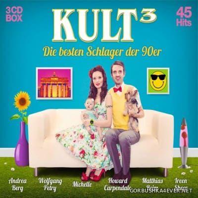 Kult³ - Die Besten Schlager Der 90er [2016] / 3xCD