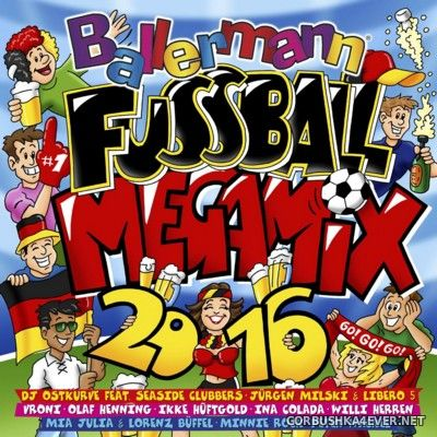 Ballermann Fussball Megamix 2016 / 2xCD / Mixed by DJ Deep