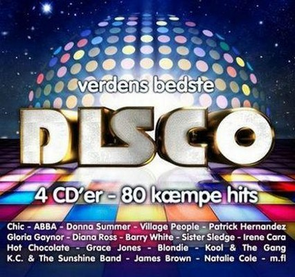Verdens Bedste Disco [4xCD]