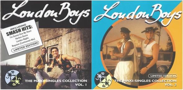 London Boys - The Maxi Singles Collection Volume 01 & 02