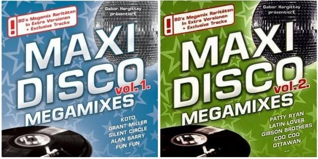 Maxi Disco Megamixes Volume 01 & 02