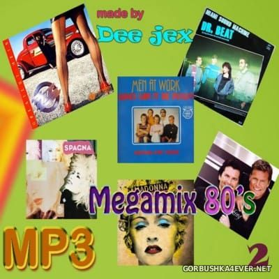 Megamix 80's vol 02 by Dee Jex
