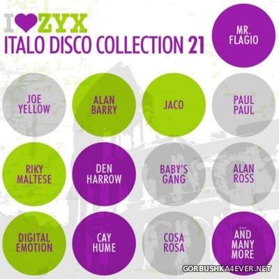ZYX Italo Disco Collection vol 21 [2016] / 3xCD