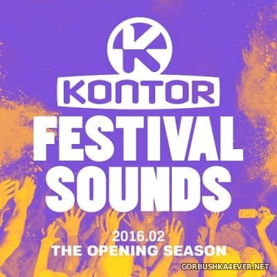 [Kontor] Festival Sounds 2016 - The Opening Season [2016] / 3xCD