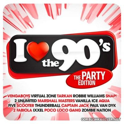 I Love The 90s - The Party Edition [2016] / 3xCD