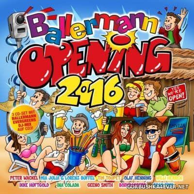 Ballermann Opening 2016 / 3xCD