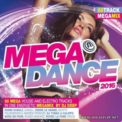 Megadance 2016 / 2xCD / Mixed by DJ Deep