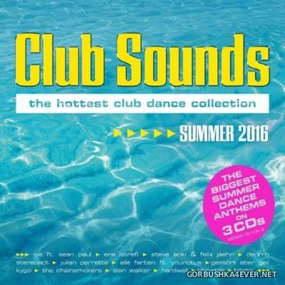 Club Sounds Summer 2016 / 3xCD