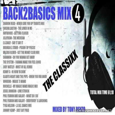 Back2Basics The Classixx Mix vol 04 [2016] by Tony Renzo