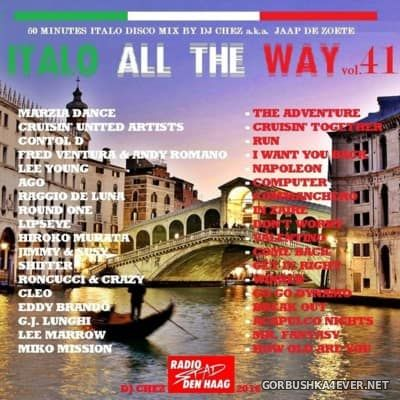 DJ Chez - Italo All The Way vol 41 [2016]