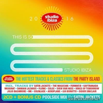 Studio Ibiza 2016 / 3xCD