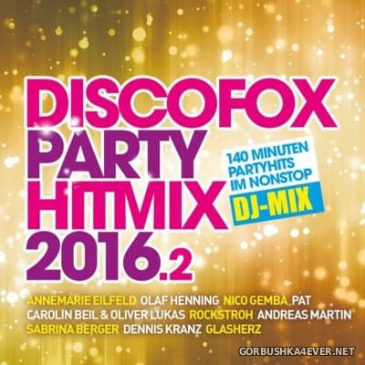 Discofox Party Hitmix 2016.2 [2016] / 2xCD / Mixed by DJ Deep