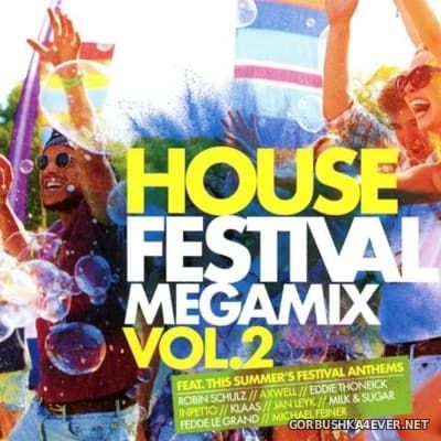 House Festival Megamix vol 2 [2016] / 2xCD