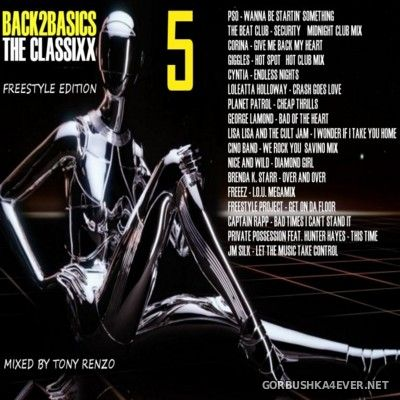 Back2Basics The Classixx Mix vol 05 [2016] by Tony Renzo