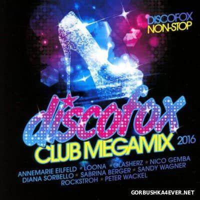 Discofox Club Megamix 2016 / 2xCD