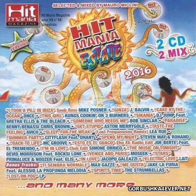Hit Mania Estate 2016 / 2xCD / Mixed by Mauro Miclini