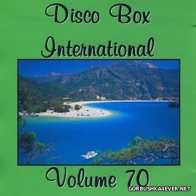 Disco Box International vol 70 [2016] / 2xCD