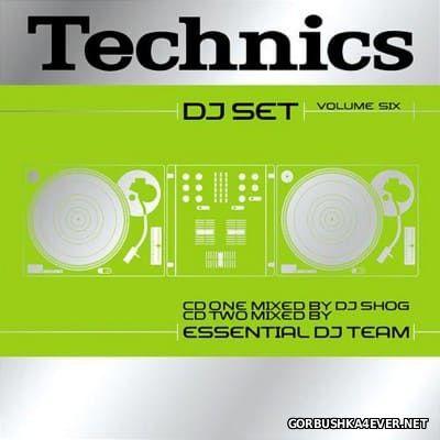 Technics DJ Set Volume 6 [2002] / 2xCD / Mixed by DJ Shog & Essential DJ Team