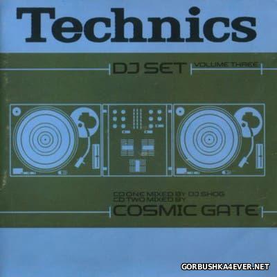 Technics DJ Set Volume 3 [2001] / 2xCD / Mixed by DJ Shog & Cosmic Gate