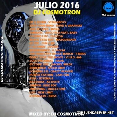 DJ Cosmotron - HiNRG Julio Mix 2016