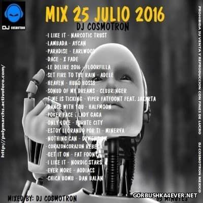 DJ Cosmotron - HiNRG Julio Mix 2016.3