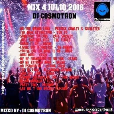 DJ Cosmotron - HiNRG Julio Mix 2016.1