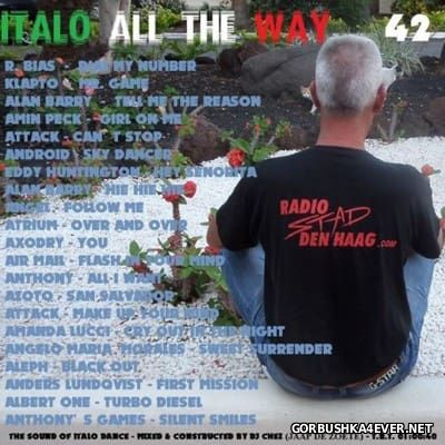 DJ Chez - Italo All The Way vol 42 [2016]