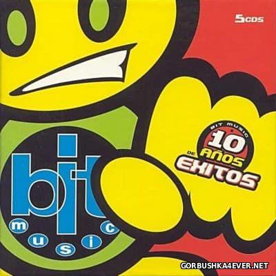 Bit Music - 10 Anos De Exitos [2004] / 5xCD