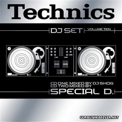 Technics DJ Set Volume 10 [2003] / 2xCD / Mixed by DJ Shog & Special D