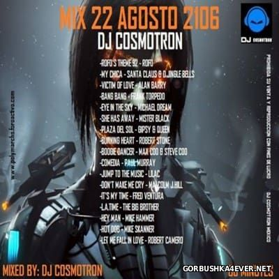 DJ Cosmotron - HiNRG Agosto Mix 2016.3