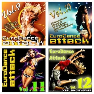 EuroDance Attack vol 09 - vol 12 [2011-2012]
