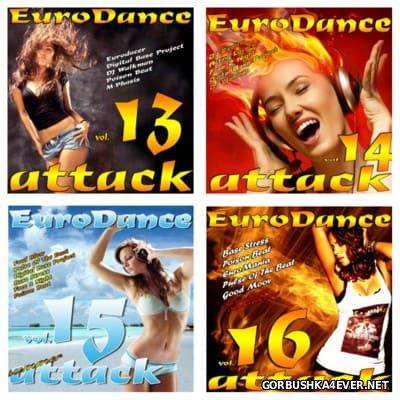EuroDance Attack vol 13 - vol 16 [2012]