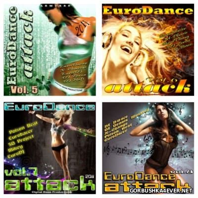 EuroDance Attack vol 05 - vol 08 [2011]